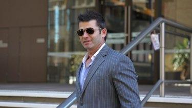 Legal fight: Sean Carolan at the Supreme Court in Sydney.