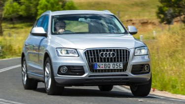 Audi's Q5, which has a diesel engine, has been withdrawn from sale because of emissions-cheating software.