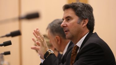 CSIRO chief executive Larry Marshall can expect fierce grillings from senators if he retains his job.