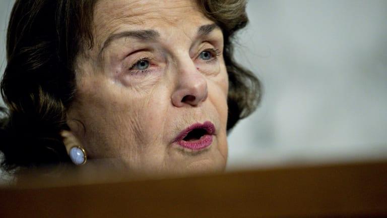 Senator Dianne Feinstein, a Democrat from California