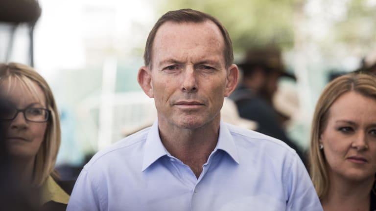 Under the pump: Prime Minister Tony Abbott.