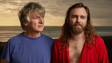 Neil Finn and son Liam have recorded an album together called Lightsleeper.