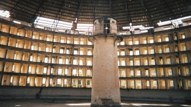 Striving to make jails less institutional: Cuba's Presidio Modelo prison, which was designed based on Bentham's panopticon model.