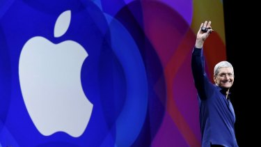 Wall Street wasn't particularly thrilled with Apple's quarterly results.
