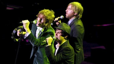 Rogers, Jamieson and Pyke pay tribute to The White Album in Sydney in 2009 .