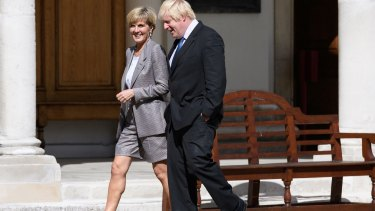 Mr Johnson was expected to push the case for a strong trade deal with Australia after Brexit.