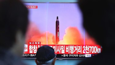 Earlier this month the UN imposed a fresh round of sanctions on the North after July's test of a long-range ballistic missile capable of carrying a nuclear warhead.