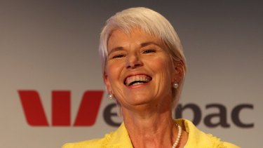 Former Westpac chief executive Gail Kelly's pay was boosted by performance shares vesting this year.