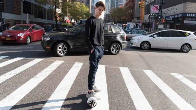 Ben Pasternak in New York City.