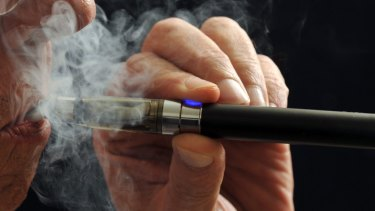 Controversial: The electronic cigarette.