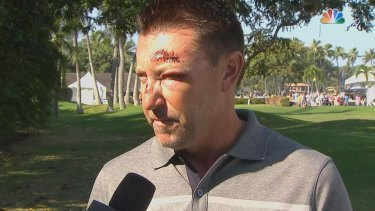 """""""I think I just need to get back there and do my thing in a very positive way"""": Robert Allenby, pictured after the incident last year."""
