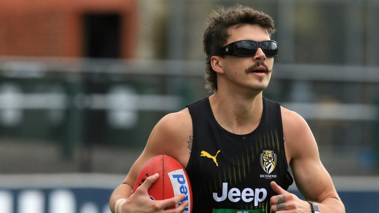 Oleg Markov was wearing some interesting sunglasses on Monday.
