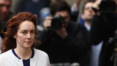 """News Group executive Rebekah Brooks had proposed eliminating """"emails that could be unhelpful in the context of future litigation,"""" according to an email read out by the phone hacking victims' lawyer."""