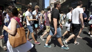 The state government is planning to narrow footpaths in the Sydney CBD, reducing space for pedestrians.
