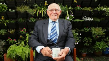 Meet the man who in 1986 almost shut down the VFL - former Corporate Affairs Commissioner and judge, Gordon Lewis