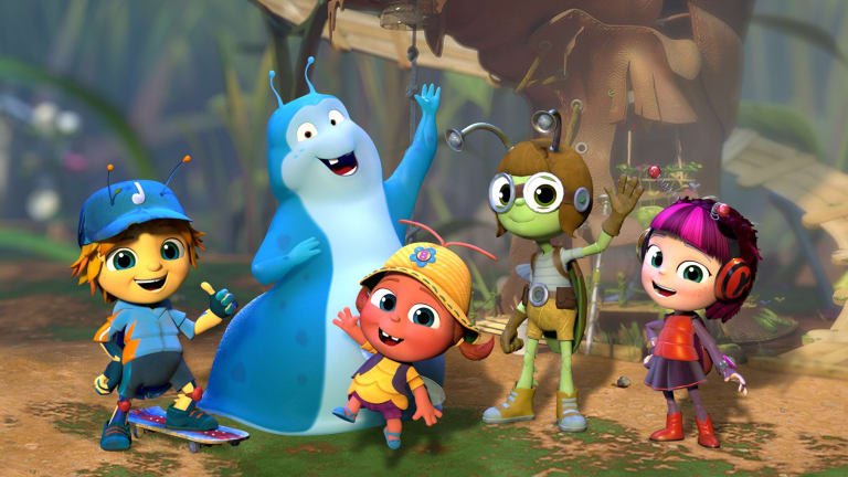 Seven's Beat Bugs marries the songs of the Beatles with computer-animated critters.