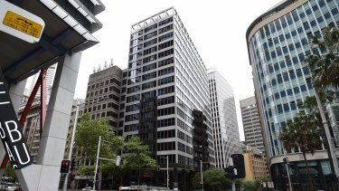 The 17-floor building at 55 Hunter Street will be the first major tower to be torn down.