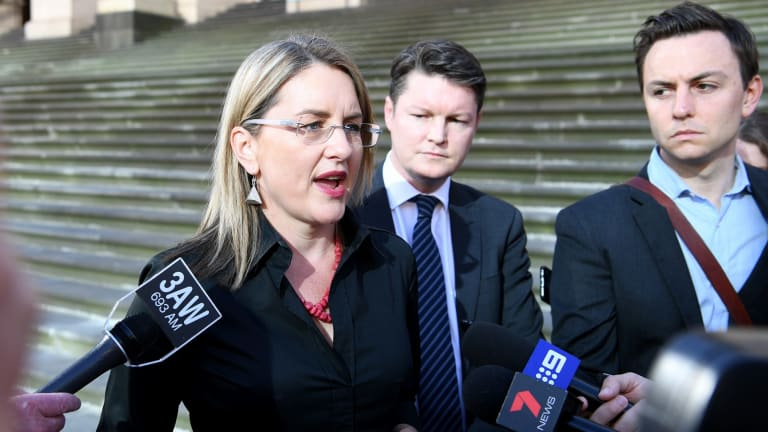 "Jacinta Allan called blocking the controversial Ormond tower a ""political stunt""."