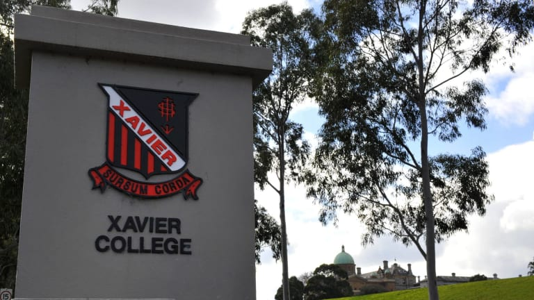 "Parents at Xavier College in Melbourne were asked to consider whether denial of same-sex marriage was ""unjust discrimination""."