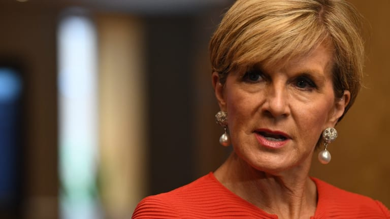 Foreign Minister Julie Bishop's pronouncements on the need for a rules-based international system will ring hollow if Australia undermines the push for nuclear disarmament.