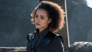 Missandei is still basking in the glow of her encounter with Grey Worm who survived the storming of Casterly Rock but for how much longer?