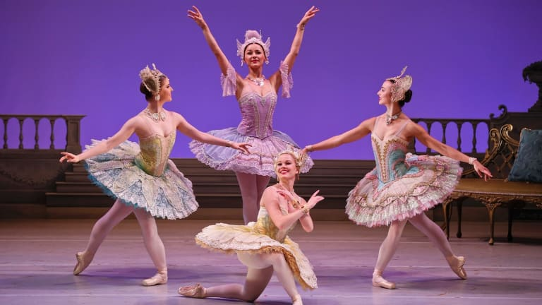 Producer David McAllister has taken excerpts from Marius Petipa's choreography and turned them into something of a pantomime in The Sleeping Beauty.