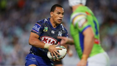 Will Hopoate was given Sundays off by the Bulldogs last season.