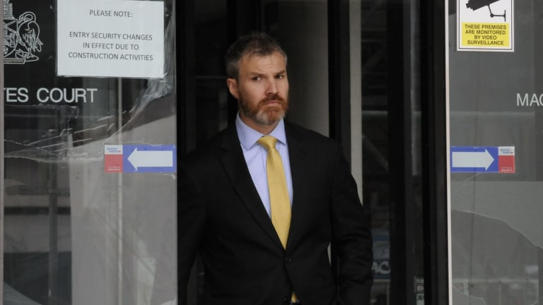 Gary Fahey, former executive assistant to AFP commissioner Andrew Colvin, is accused of defrauding the Commonwealth of nearly $50,000.
