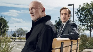 Emotional truth: Jonathan Banks and Bob Odenkirk in the Breaking Bad spinoff Better Call Saul.