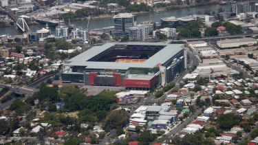 Lang Park/Suncorp Stadium/Brisbane Stadium (Lang Park) has been a landmark in Brisbane's inner west.