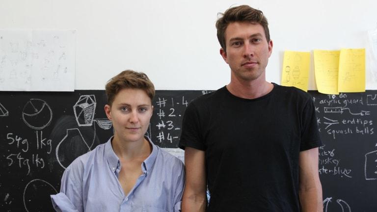 Ben Landau and Lucile Sciallano.
