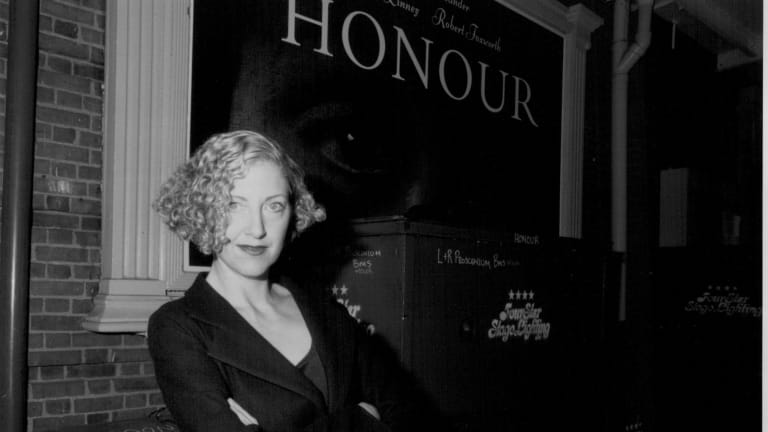 Joanna Murray-Smith soon after her play 'Honour' was first staged.