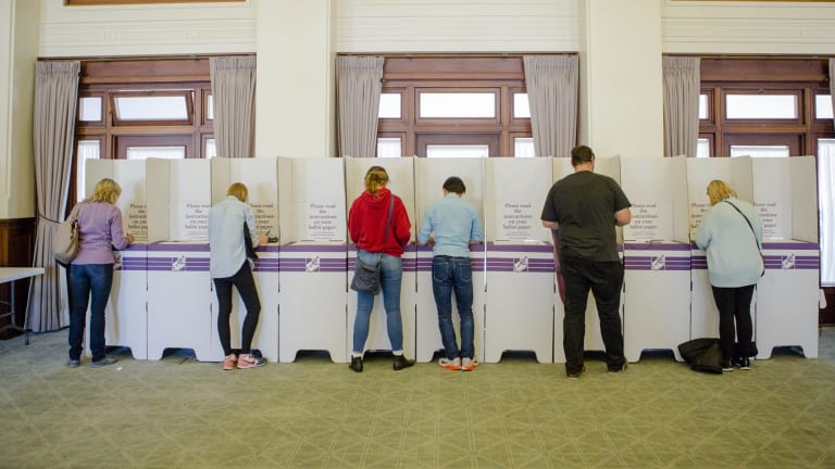 Two voters appear to have voted early and voted often after they were marked off the electoral roll 11 times.