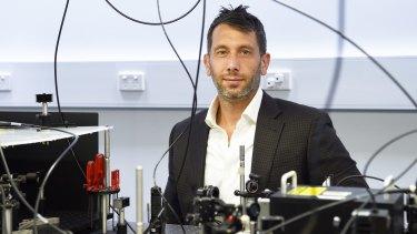 Professor Michael Biercuk at the University of Sydney.