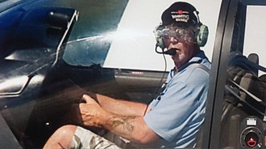 Donald Hateley, who died in the plane crash at Barwon Heads on Friday.