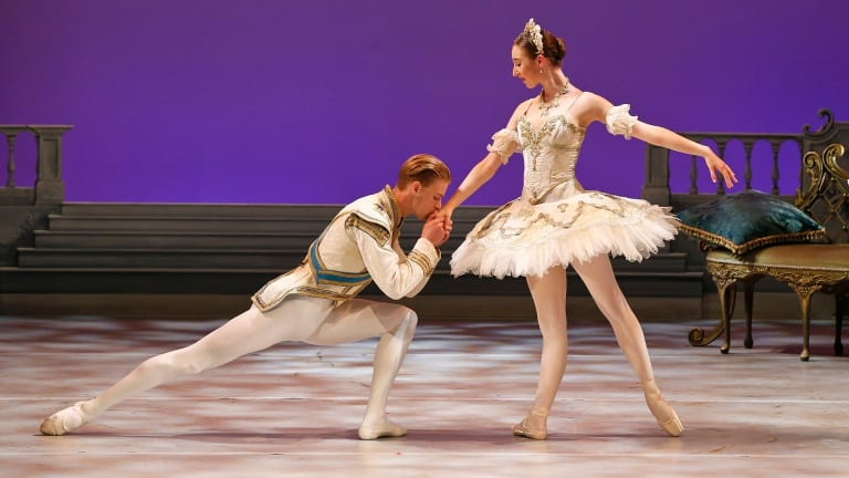 The Sleeping Beauty is just 50 minutes of fast-moving entertainment for the young and not-so-young.