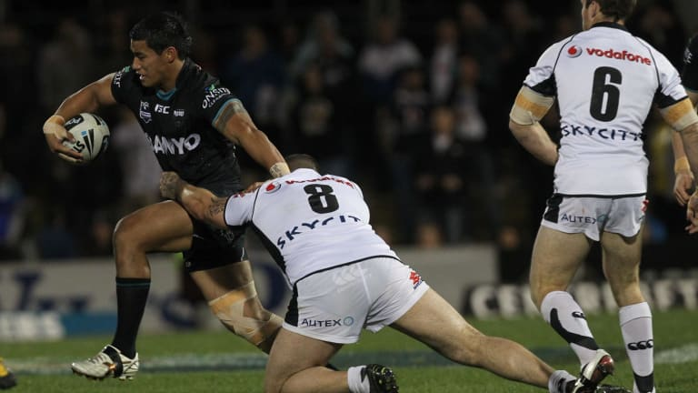 Big league: Junior Vaivai in action for the Panthers in 2011.