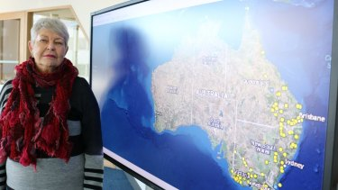 Professor Lyndall Ryan says the map is a significant step in the recognition of the periods of violence in Australia's history.