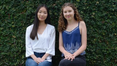 Lori Zhou and Charlie Rogers, from Redlands, did the IB diploma in 2017 and both scored 44 out of 45.