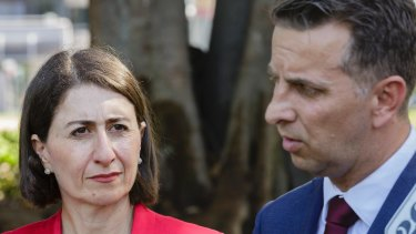 Premier Gladys Berejiklian revealed the new light rail stops for Parramatta on Friday.