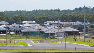 Willowdale development in Sydney's south-west by Stockland.