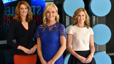 The three presenters of the new bulletins will be (left to right) Samantha Heathwood (Queensland), Jo Hall (Victoria) and Vanessa O'Hanlon (New South Wales and Australian Capital Territory).