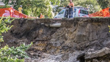 Warrigal Road was expected to remain closed for some time.