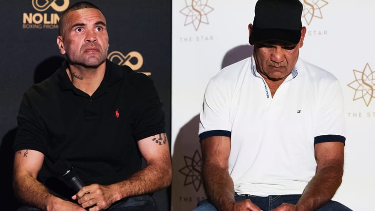 Crossroads: Anthony Mundine is planning to go out in 2018 on a high.