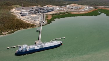 The APLNG project in Queensland accounts for most of the latest write-down.