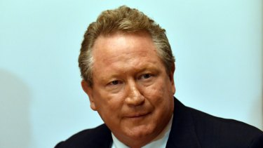 Andrew Forrest is looking to create his own rugby competition after being knocked back by the ARU.