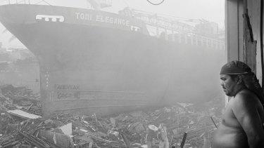 Typhoon Haiyan, Tacloban City, Philippines.
