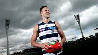 Geelong draftee Sam Menegola hopes it's third time lucky in the AFL system