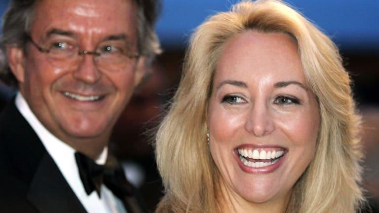 Former CIA officer Valerie Plame, right, and her husband former ambassador Joseph Wilson in 2006.