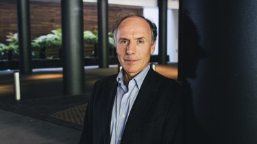 """Chief Scientist Alan Finkel is looking at """"national research infrastructure priorities""""."""